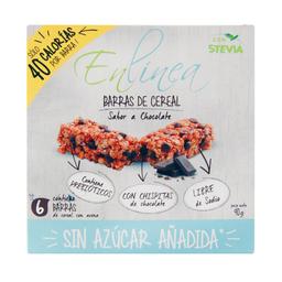 Barra Cereal Enlinea Chocolate 6Unx15G