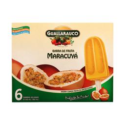 Barra Fruta Maracuya Guallarauco 6X60