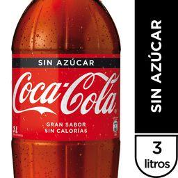 Bebida Coca Cola Zero 3 Lt