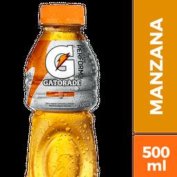 Bebida Gatorade Isotónica Manzana 500 mL
