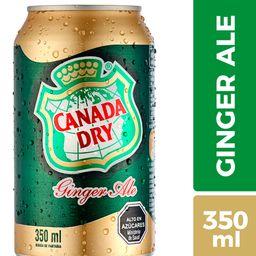 Canada Dry Bebida Ginger Ale Lata