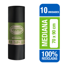 Virutex Bolsas De Basura Biorol70X90 10Un