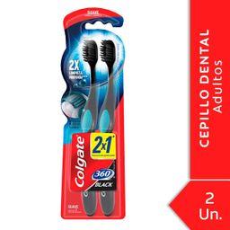Colgate Cepillo Dental 360 Black