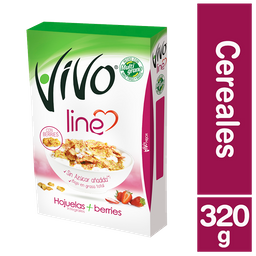 Vivo Line Cereal Hojuela Berries