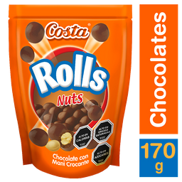 3 x Costa Chocolate Rolls Nuts