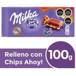 Chocolate Milka Chips Ahoy 100 g
