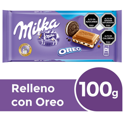 Chocolate Milka Oreo Ii 100 Gr