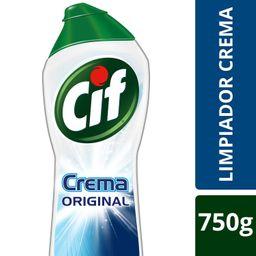 Cif Crema Original, Limpiador Con Micropartículas Botella 750g