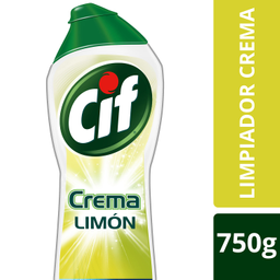 Cif, Limpiador crema aroma limón, 750 ml