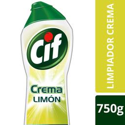 Cif Crema Limon C/Microparticulas 750Gr