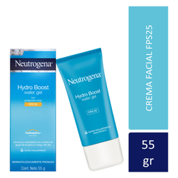 Hidratante Facial Neutrogena Spf 25  Water Gel 55 g
