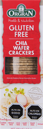 Galleta Orgran Cracker Chia 100 g