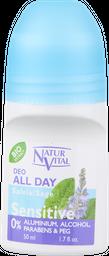 Natur Vital Desodorante Sensitive Salvia Roll On