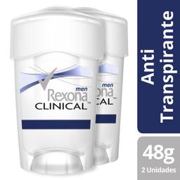 Rexona Men Pack Clinical X 2 Un
