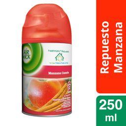 Aromatizantes Air Wick Freshmatic Manzana Canela 250 mL