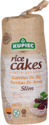 Kupiec Galletas De Arroz Sesamo