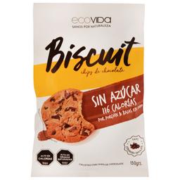 Galleta Ecovida Chips Choc S/Azuc 150 Gr