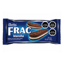 Galleta Frac Vainilla Costa 130g