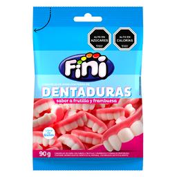 Gomitas Fini, Dentadura Frutilla 90 g