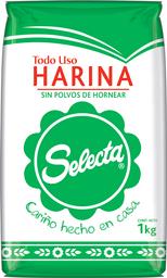 Harina Selecta de Trigo Todo Uso Sin Polvo 1 Kg