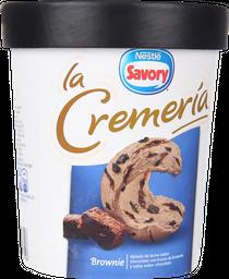 Helado La Cremeria Brownie 1 L