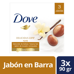 Dove Jabon En Barra Karite 3 X