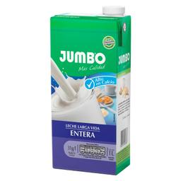 Leche Jumbo Entera, Caja 1 l