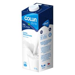 Leche Colun Descremada sin Lactosa Caja 1 l