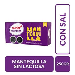 Mantequilla Surlat Sin Lactosa 250 g