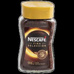 Café Nescafé Fina Selección, Instantáneo Frasco 170 g