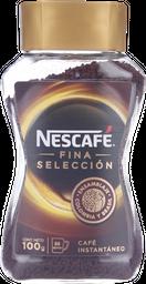 Nescafé Café Fina Selección, Instantáneo, Frasco 100 G