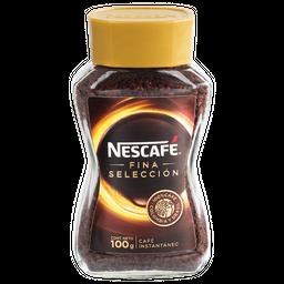 Café Nescafé Fina Selección, Instantáneo, Frasco 100 g