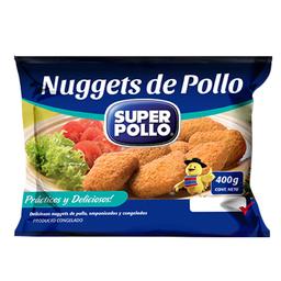 Nugget Super Pollo de Pollo Bolsa 400 g