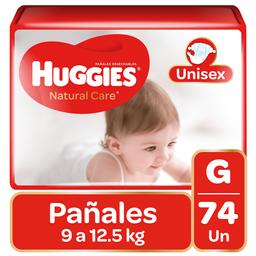 Pañal Huggies Natural Care Niño G74Un