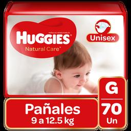 Pañal Huggies Natural Care Niño G 70Un