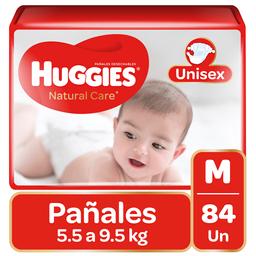 Pañal Huggies Natural Care Niño M84Un