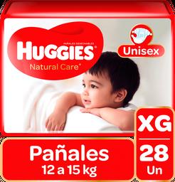 Huggies Pañales Natural Care Niño Xg