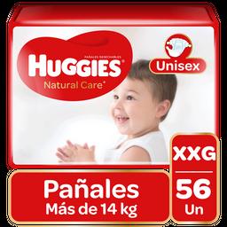Pañal Huggies Natural Care Niño XXG 56Un