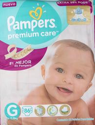 Pañal Pampers Premium Care Grande 86 Unidades