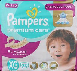 Pañal Pampers Premium Care xg 28 U