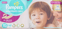 Pañal Pampers Premium Care Desechable XG 60 U