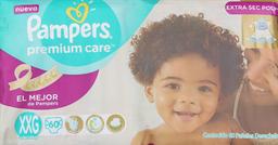 Pañal Pampers Premium Care Xxg 60 U