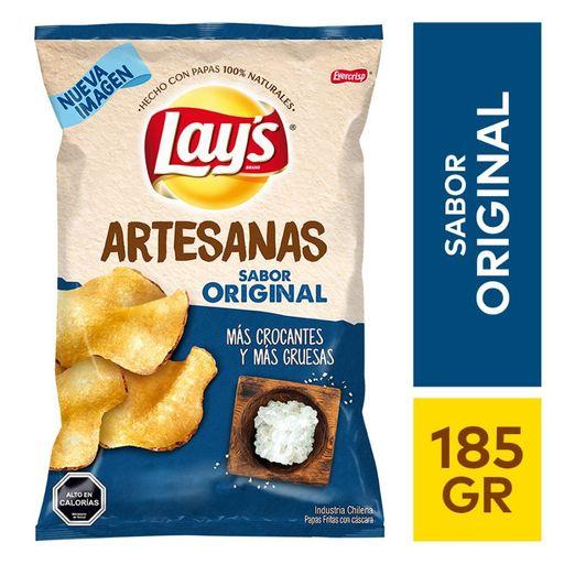 Lays Papas Fritas Artesanas Original