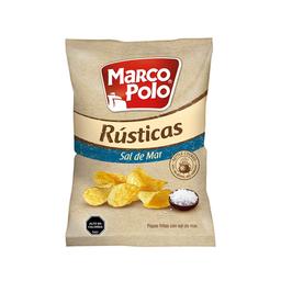 Papas Marco Polo Rústicas Sal Mar 185G