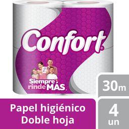 Confort Papel Higienico De 4 U 30 Metros