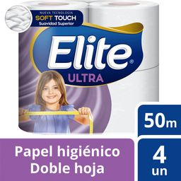 Elite Papel Higienico Doble Hoja 4 Un