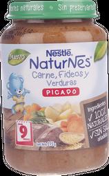 Picado Naturnes Carne Fideos y Verduras 215 g