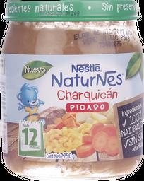 Picado Naturnes Junior Charquicán 250 g