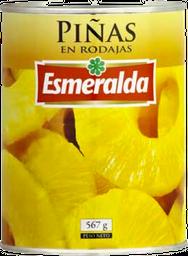 Piña Rodajas Esmeralda 340 Gr Dr