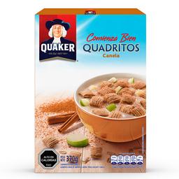 Cereal de Avena Quaker Cuadritos de Canela 370 g